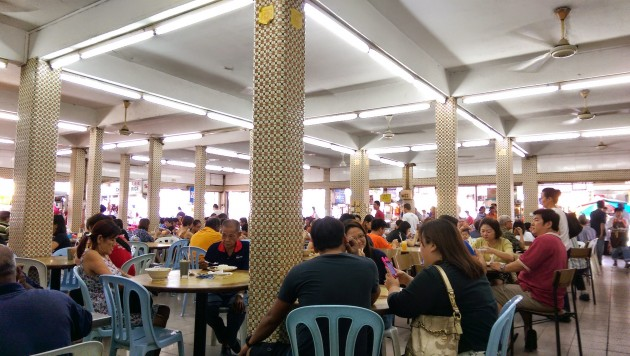 The lunch crowd.