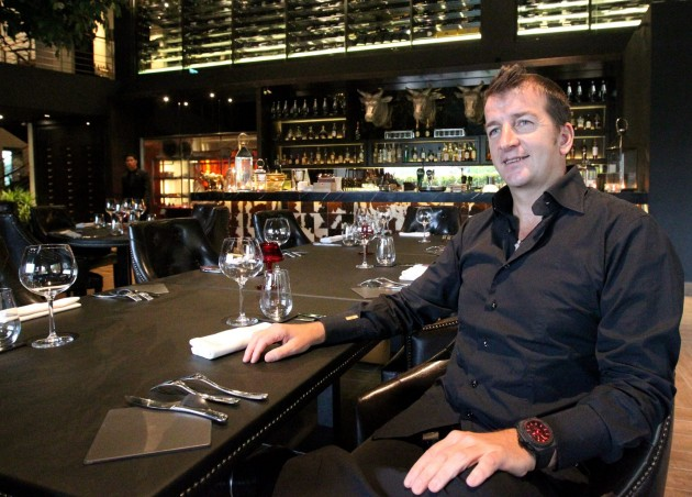 Chef-turned-restaurateur, Modesto Marini.