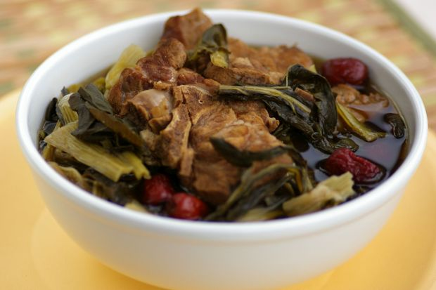 Braised Meat with Dried White Cabbage