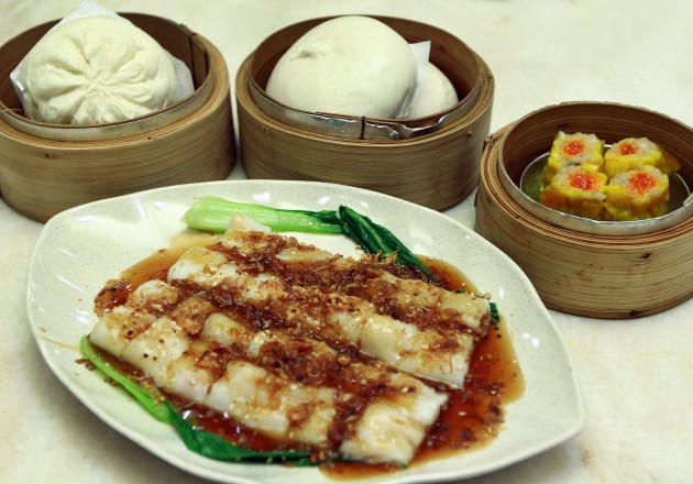 "The ""Fantastic Four"" that regular customers would order at Restaurant Yun Lai Dim Sum."