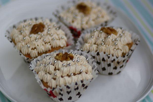 Peanut Butter Coffee Cupcake
