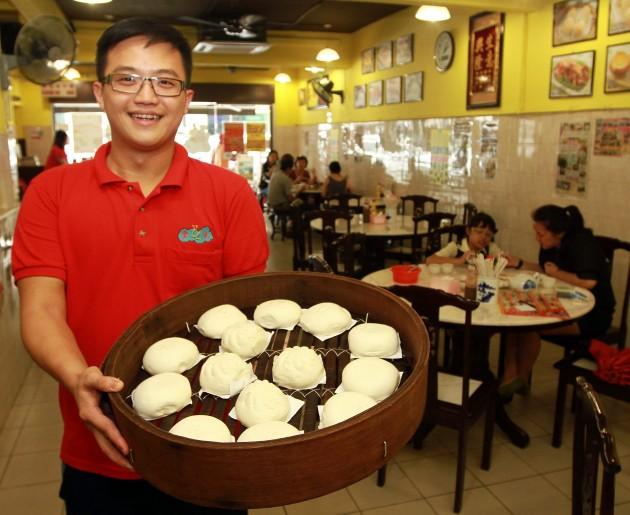 Restaurant Yun Lai Dim Sum owner, Martin Tan.