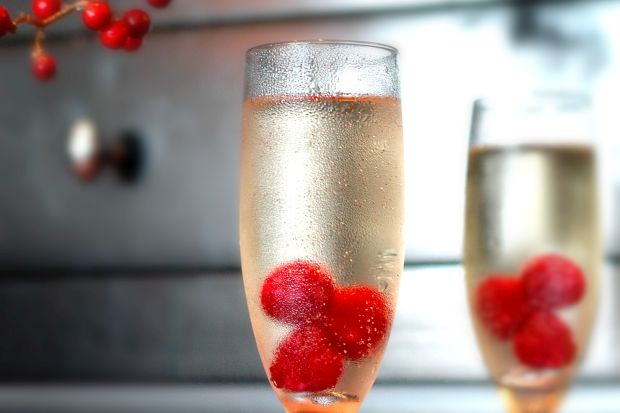 Frosty's Sparkling Martini