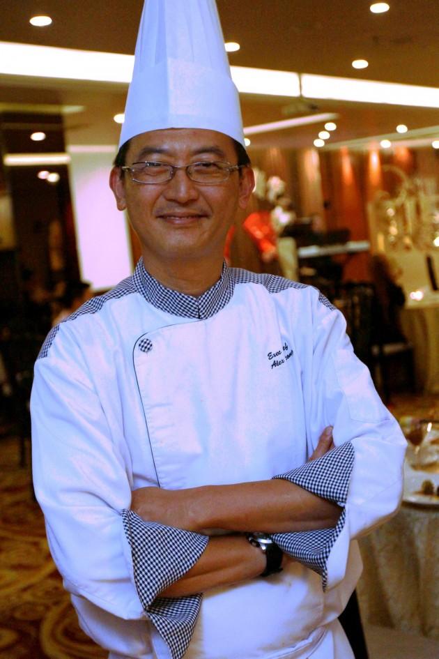 Eastin Hotel Petaling Jaya executive chef Alex Leong.
