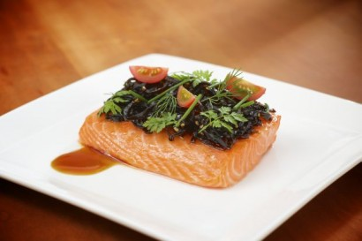 Slow Cooked Salmon
