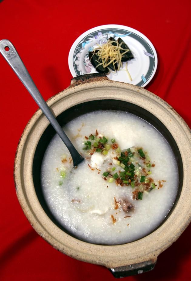 Restoran Pan Heong's Pork Rib and Fish Porridge.