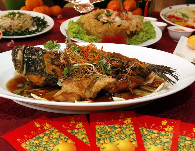 Appetising: Deep fried soon hock fish with garlic and onion sauce is among the tempting festive dishes available at The Royale Bintang Resort & Spa Seremban's Han Pi Yuen.