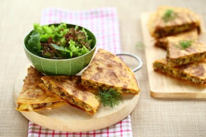 Mission's Middle-Eastern Lamb & Egg Wedges