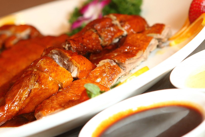 Roasted to perfection: The Roasted 'Pi Pa' Duck Traditional Style was crispy on the outside and juicy on the inside.