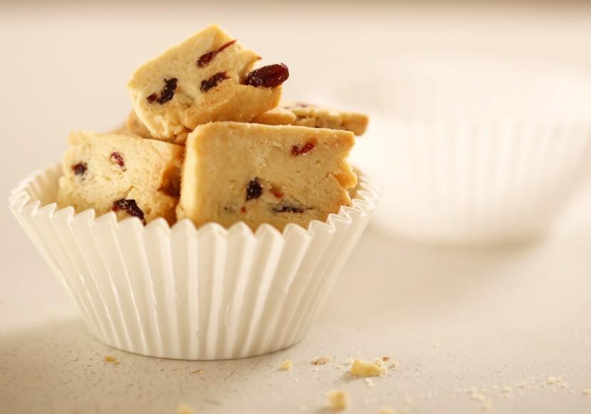Cranberry Almond Sablé Cookie
