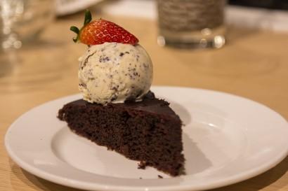 Beetroot Choc cake
