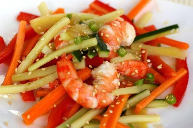Sesame Prawn Salad