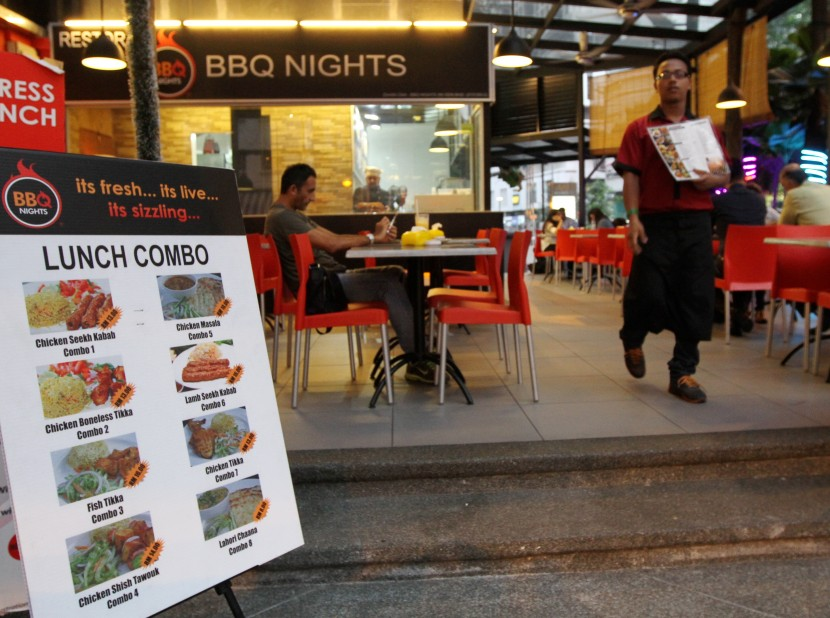 The exterior of BBQ Nights.