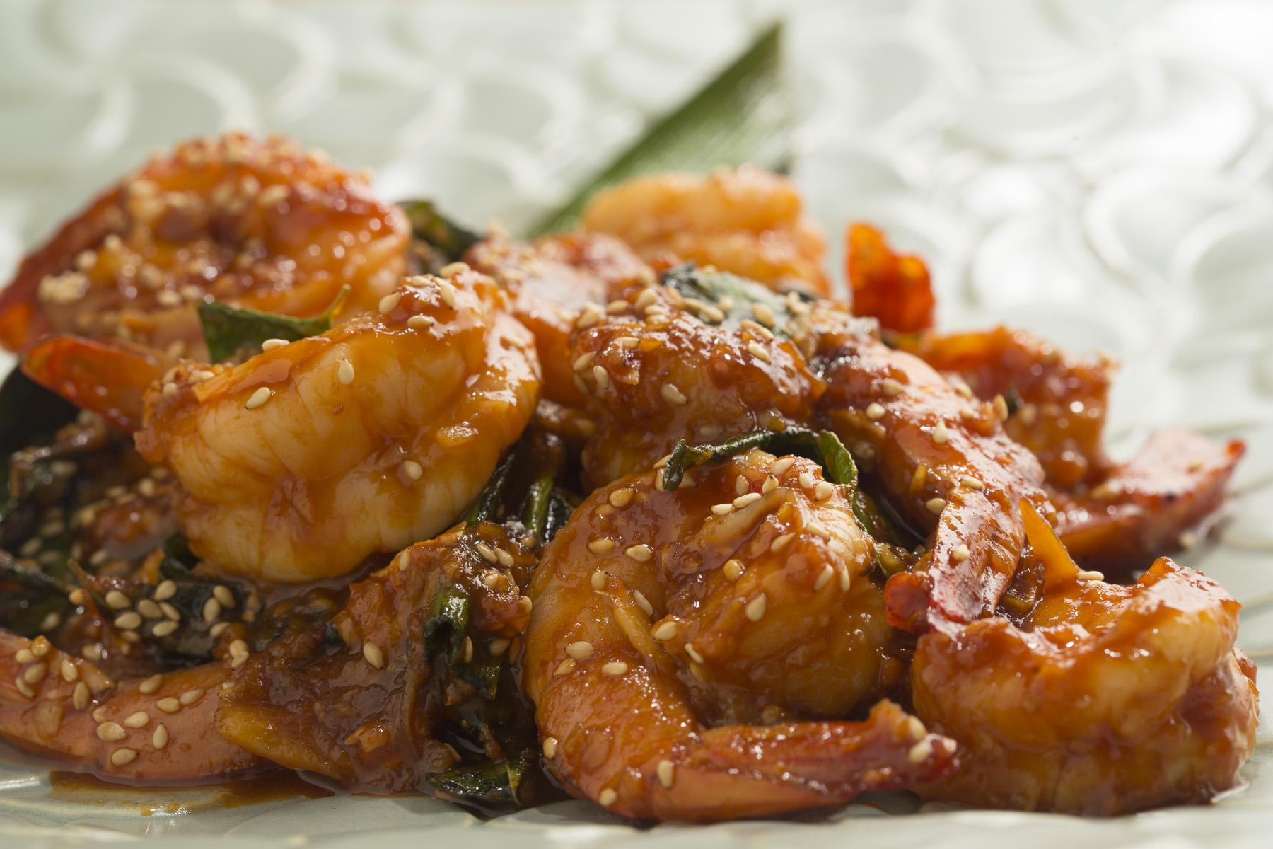 Malaysian Chilli Sesame Prawn