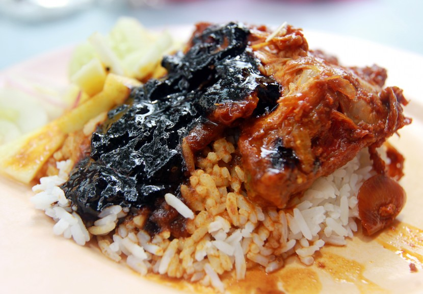 Family recipes: Restoran Kudu bin Abdul Nasi Kandar serves only nasi kandar with a variety of meat and seafood, vegetables and curries.