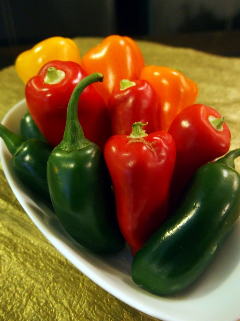 Fiery kick: These Habanero peppers pack a punch.