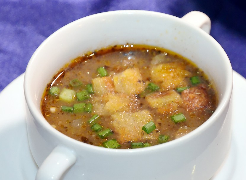 Spicy appetiser: The Pepper Lamb Soup is an interesting take on our local Sup Kambing.