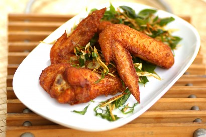 Chicken Wings in Spicy Sauce