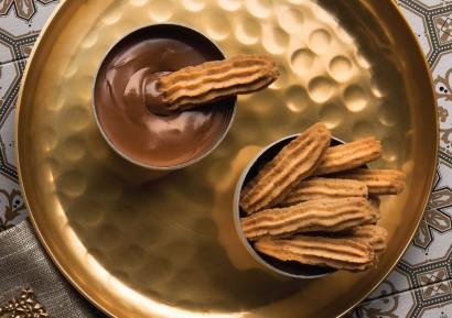 Hazelnut and Chocolate Semprit