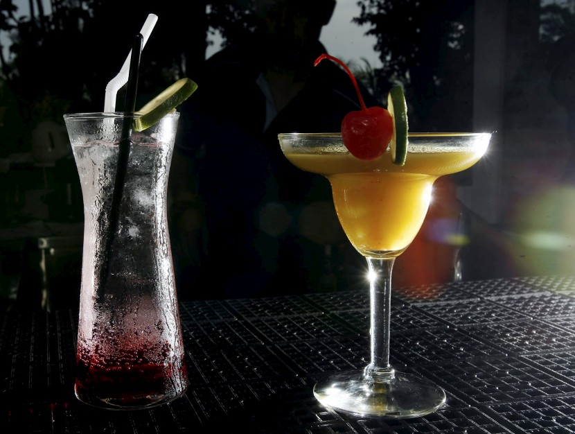 Both alcoholic and non-alcoholic drinks feature on the drinks list at The Verte in Port Dickson.
