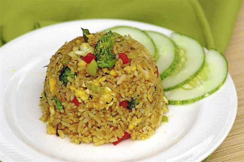 Fragrant spicy fried rice