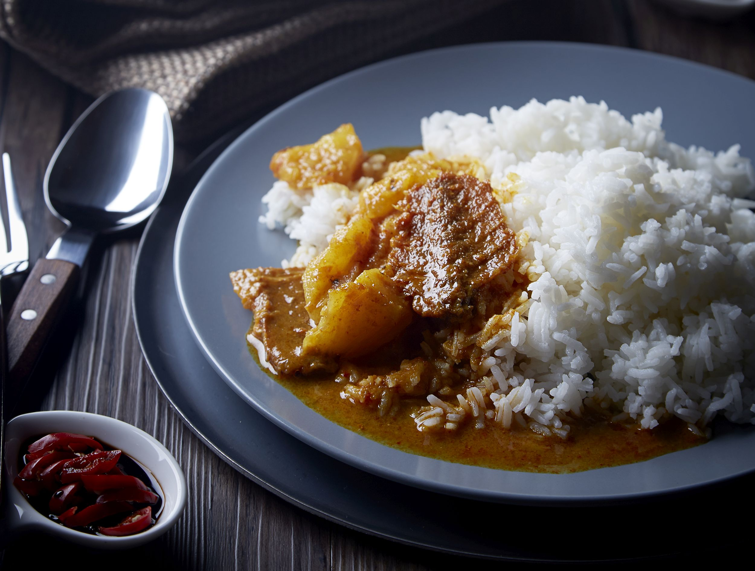 Salted Fish and Pineapple Gulai