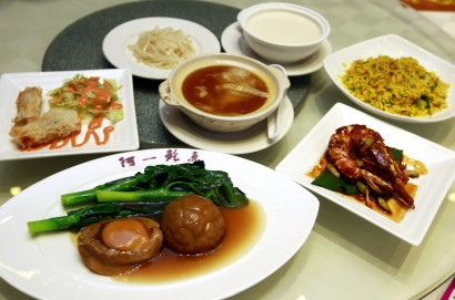 The six-dish set meal is priced at RN88++ per person and is available for lunch and dinner.