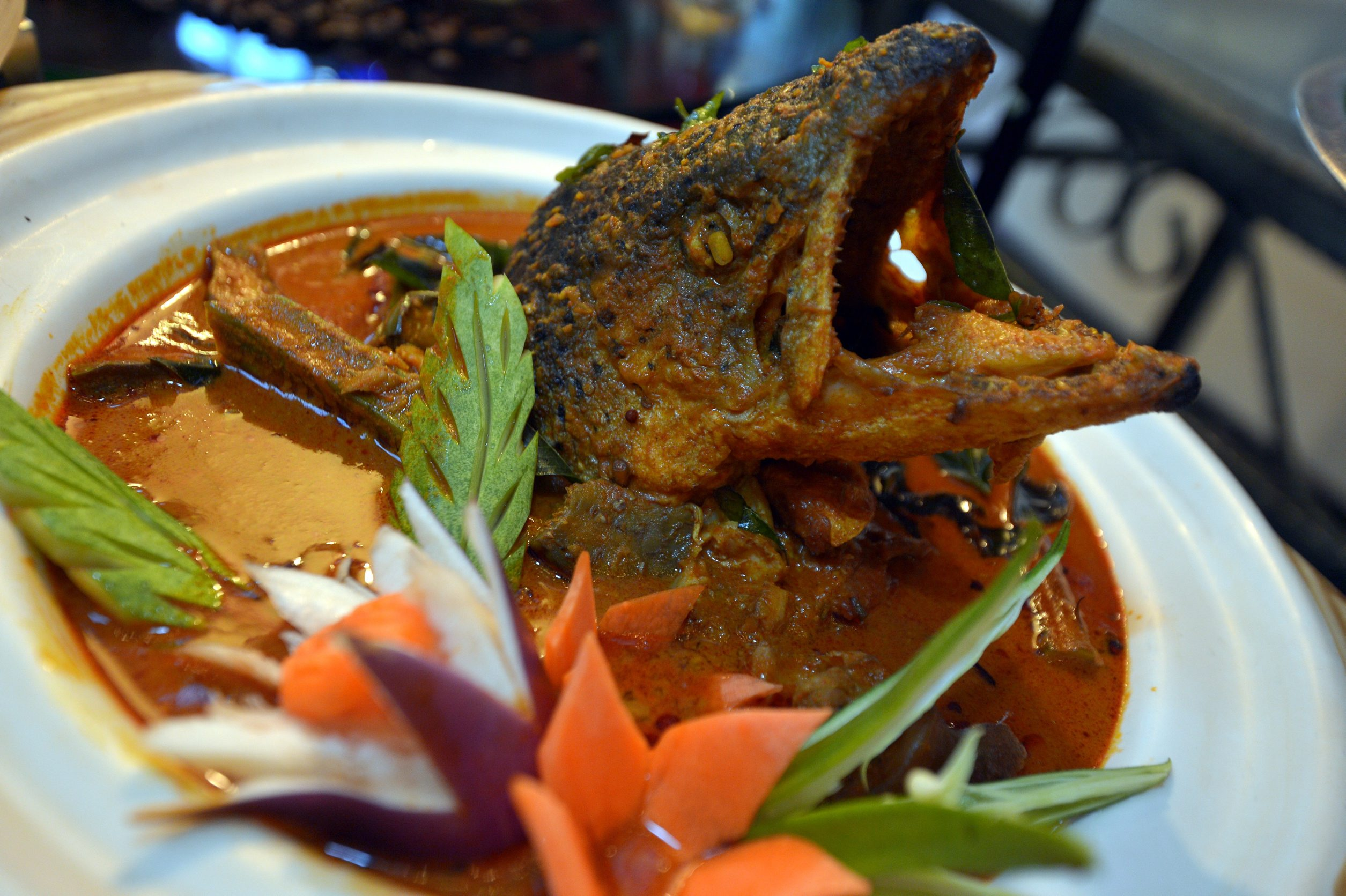 Curry Fish Head Recipe — Dishmaps