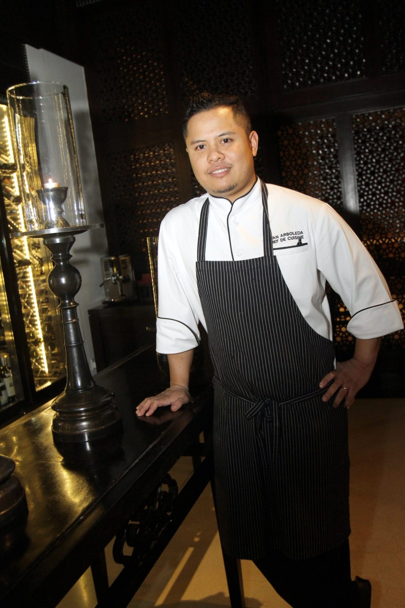 New Zealand-born Arboleda has 14 years of culinary experience under his belt.