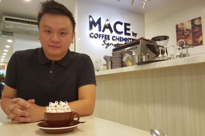 Hew chose to shift the cafe's focus from coffee and desserts exclusively to include fusion dishes as well.