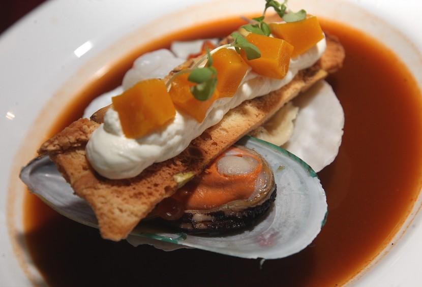 Seafood Bouillabaisse.