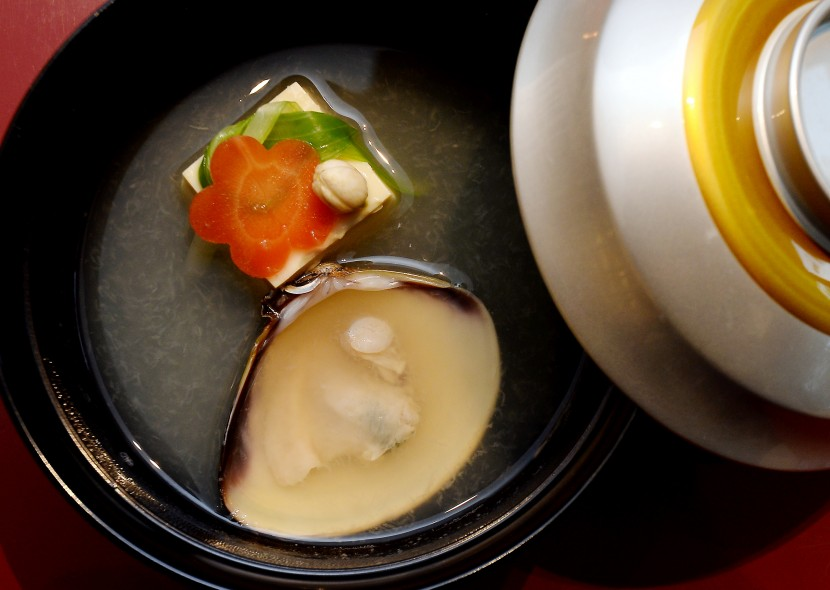 Hamaguri (clam soup), which is Sasagawa's personal favourite. — Photos DARRAN TAN/The Star