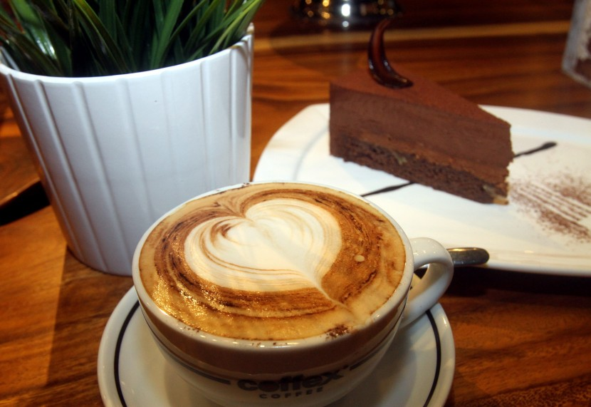 The Chocolate Royale is priced at RM14 for a slice, or RM16 when served with a cup of coffee during the weekday tea time special.