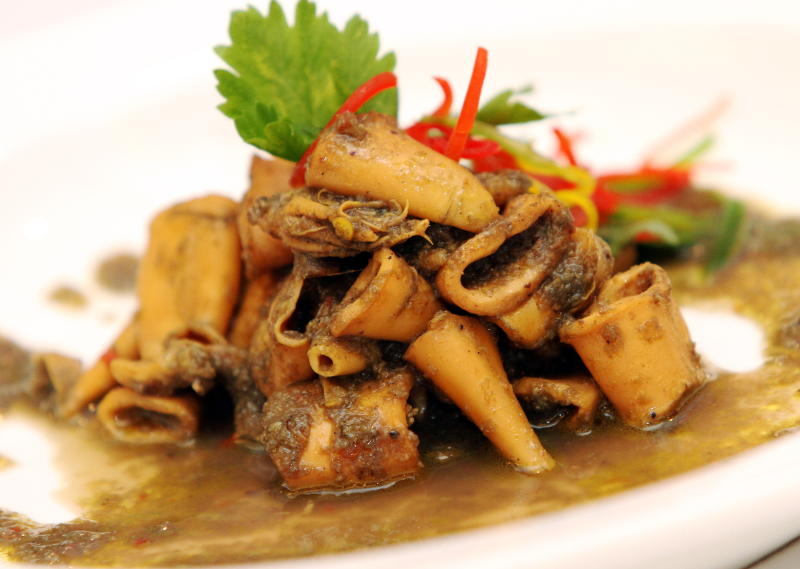 A favourite on the promotion is the Sotong Masak Hitam.