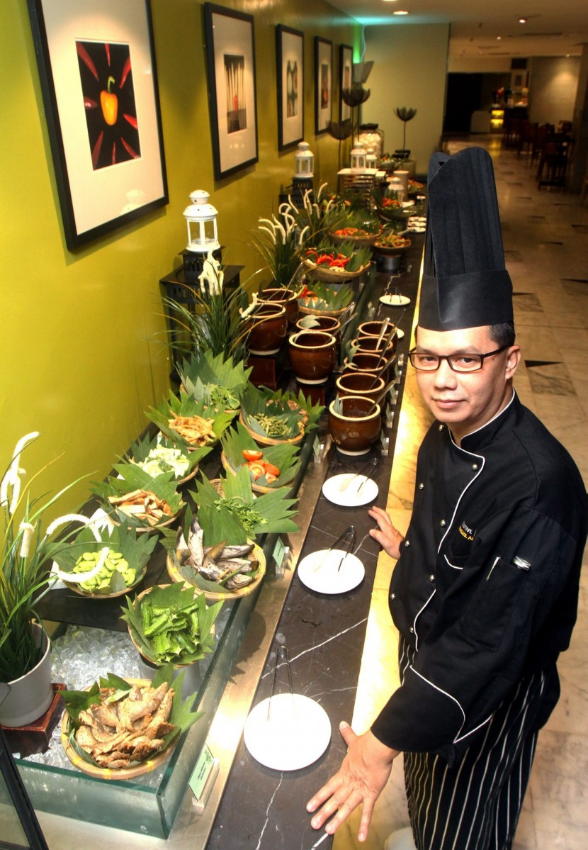 Chef Fadzil said those who love kerabu would be excited with his line up.
