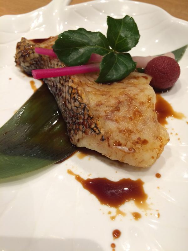Gindara - Grilled black cod with salt or teriyaki sauce
