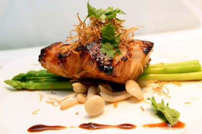 Honey Glazed Baked Black Cod is an elegant and tasty dish.