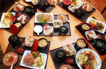 Kin No Uma Japanese Restaurant at the Palace of the Golden Horses is having a teppanyaki promotion until end of May.