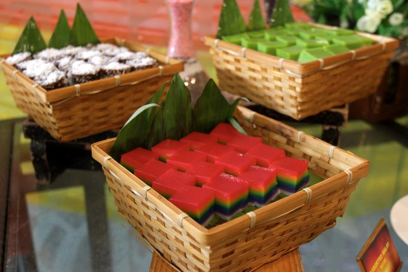 Kuih-muih galore are available as part of the Kembara Desa Ramadan buffet at Premiere Hotel, Klang.