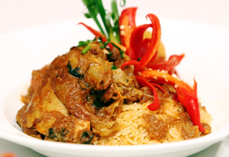 The Nasi Kuzi Ayam is a must-try at the Johor Food & Cultural Festival.