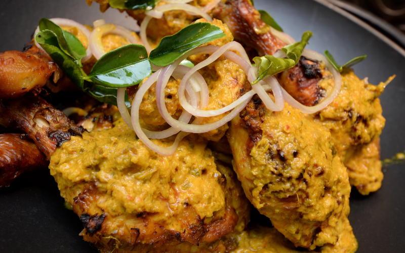 Ayam Panggang Tempoyak is the main star at Essence Sheraton Imperial Kuala Lumpur's Ramadan buffet.