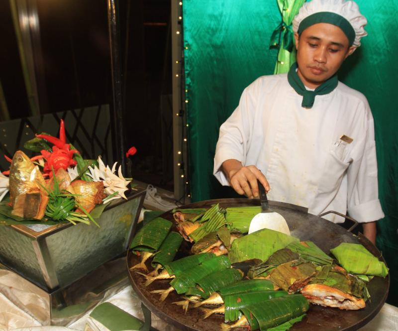 Ikan Bakar Nyonya Sambal.