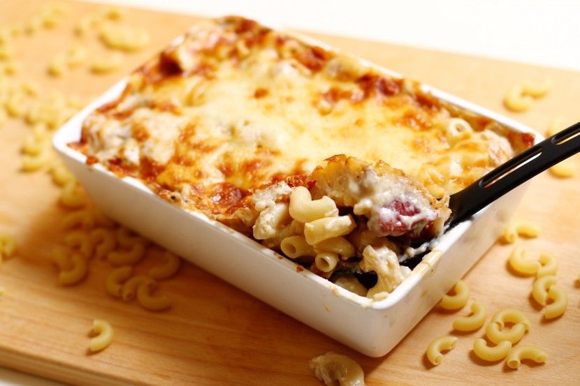 Macaroni Alforno with Beef and Peppers