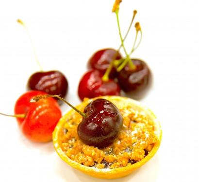 Northwest Cherry Pistachio Tart