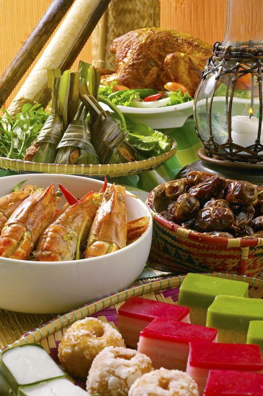 Some of the dishes at The Legend Resort Cherating Ramadan food promotion themed Citarasa Pantai Timur.