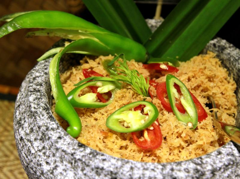 The Sambal Kelapa was one the less piquant options among the 25 Shades of Sambal available at the Ramadan buffet in Sunway Resort & Spa's Resort Cafe.