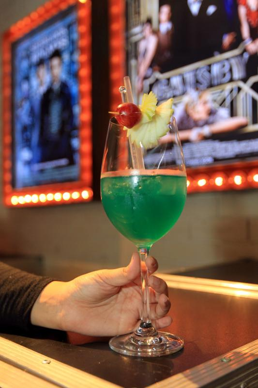 The Blue Elephant is the signature cocktail of the establishment.