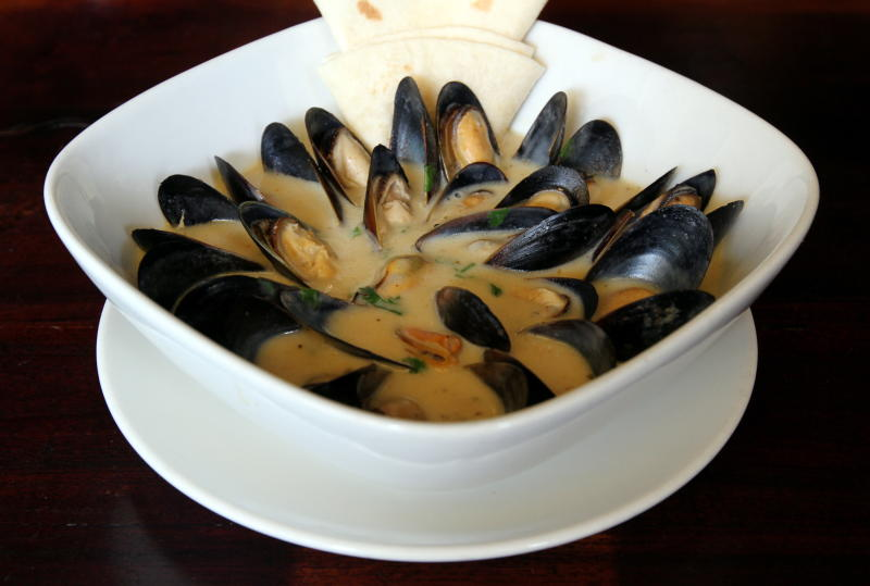A fan favourite at Las Carretas is their Mussels in Coriander and Habanero.