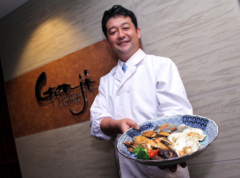Chef Tetsuya Yanagida has crafted a delicious, promotional menu for the establishment.