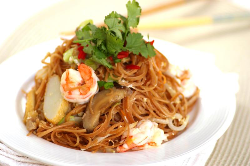 Fried Mee Sua.